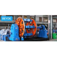 Buy cheap 1+6+12+18+24+30 Spool Planetary Steel Wire Twisting Machine from wholesalers