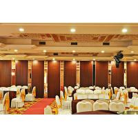 Buy cheap Wooden Surface Sliding Movable Partition Walls , Hotel Folding Room Divider from wholesalers