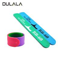 Buy cheap China Factory Directly Promotional Gifts Ruler Bands Silicone Slap Bracelet For Kids from wholesalers