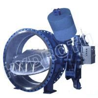 Large Hydraulic Counter Weight Butterfly Valve
