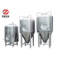 Buy cheap Stainless Steel Micro Beer Brewery Fermenting Tanks/ Pot Machine/Storage Tank from wholesalers