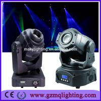 Wholesale RGBW Aluminum Materials Mini Moving Head Stage Lighting 7R 19X15 W PAR Light from china suppliers