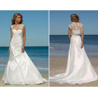 Buy cheap best seller taffeta with lace jacket wedding gowns bridal dress from wholesalers