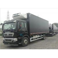 Buy cheap Commercial Refrigerated Truck SINOTRUK HOWO 20 - 25 CBM German MAN Engine Euro 4 from wholesalers