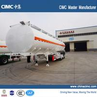 Buy cheap 42000 liters fuel tanker trailer with tri-axles from wholesalers