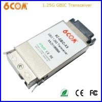 Buy cheap 1.25Gb/s 80KM SC GBIC Transceiver Module For Network TN-GB-SM58 from wholesalers