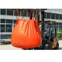 Wholesale Waterproof Orange PVC Recycled Jumbo Bag Storing Hazardous And Corrosive Products from china suppliers