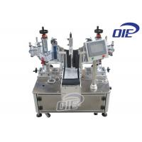 Buy cheap Semi Automatic Labeling Machine Linear Single / Double Side Labeling Machine from wholesalers
