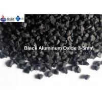 Buy cheap 1 - 3 Mm /3 - 5mm Black Aluminum Oxide Abrasive Fused Alumina Anti Slip Aggregates Material from wholesalers