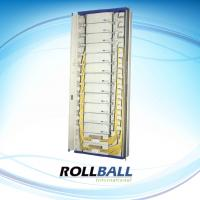 Buy cheap 2600 * 840 * 350 mm Optical Fiber Cabinet Indoor Type With Steel Material, 720 Cores from wholesalers
