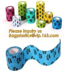 Buy cheap Cotton Cohesive Bandage sports tape Mixed Color Self Adhesive elastic bandage,Polyurethane Sports Under wrap Foam Tape B from wholesalers
