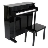 Wholesale 37 Key Upright Toy wooden piano Kid toy mini piano with stool U37A from china suppliers
