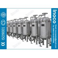 Buy cheap BOCIN 25 Micron Stainless Steel Multi-bag Filter Liquid Filter ASME from wholesalers
