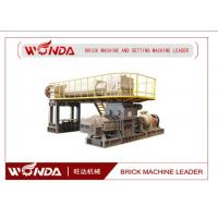 Wholesale High Manganese Steel Red Clay Bricks Manufacturing MachineWith Double Shaft Mixer from china suppliers