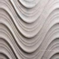 Wholesale Natural Stone 3D Wavy Interior Design Wall Art Panels from china suppliers
