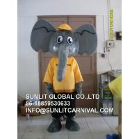 Buy cheap Elephant Character Costume in Adult Size/Elephant Mascot Costume/ Animal Mascot Costume from wholesalers