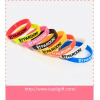 Wholesale Promotional ink filled silicone bracelet from china suppliers