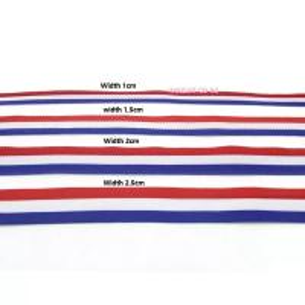 Buy cheap IMKGIFT Make in custom ribbon , neckstrap , lanyard ,blue/whie/red ribbon , medal ribbon in red white black from wholesalers