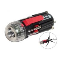 Buy cheap LED Multi-functional Flashlight,8 IN ONE Multi-Screwdriver Torch from wholesalers