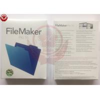 China Microsoft Office Adobe Graphic Design Software FileMaker Pro 16 Retail Package on sale