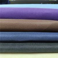 Buy cheap Dyed 90 Cotton 10 Polyester Fabric Bright And Clean High Color Fastness from wholesalers