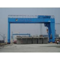Buy cheap MG Double Girder Gantry Crane with Hook product