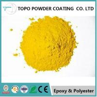 Buy cheap RAL1012 lemon yellow electrostatic thermoset powder coating  for lighting fixtures from wholesalers