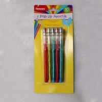 Wholesale Easter Plastic Multi Head Bullet Push Pencil Logo Printing With Cap from china suppliers