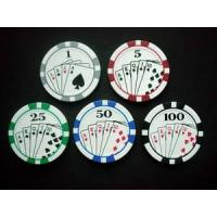 Buy cheap Printed Poker Chip from wholesalers