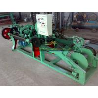 Buy cheap China supplier direct export Barbed Wire Making Machine, barbed wire machine from wholesalers