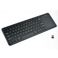 Wholesale 2.4G Wireless Media Keyboard Mouse Combo with  Big Mouse Touchpad Multi Touch Function from china suppliers