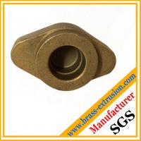 China Non Ferrous Brass Forgings Brass Hot Forged hot pressed punched Components on sale