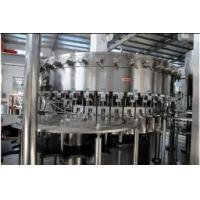 2.2KW PET bottles Soda water filling machine system 18 heads 3,000BPH (500ml) Capability Manufactures
