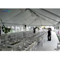Buy cheap 3m - 60m Event Marquee Tent Width Aluminum And PVC White Clear Span Tent For Outside Sport from wholesalers