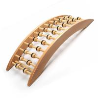 Buy cheap Natural Wooden Electric Back Massager Eco Friendly Material Increases Blood Circulation from wholesalers