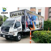 Wholesale Movable 7D Movie Theater Trailer from china suppliers