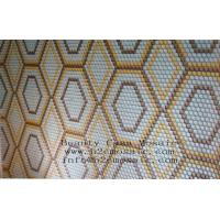 Wholesale Round Glass Mosaic Medallion DIA23*4 or 8mm from china suppliers