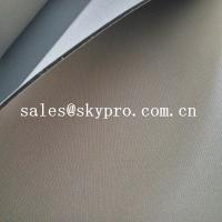 Buy cheap Customized anti-shock neoprene foam sheet two sided coated polyester jersey nylon fabric from wholesalers