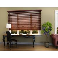China Motorized wooden blinds on sale
