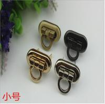 Buy cheap Lady handbag zinc alloy gunmetal color high quality metal twist locks from wholesalers