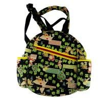 Buy cheap neoprene child backpack laminated with sublimation jeans.two side pocket for milk bottle from wholesalers