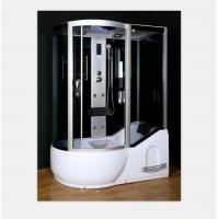 Buy cheap Polished Frame Steam Shower Enclosure , Steam Shower Cubicle Single Door Sliding Style from wholesalers