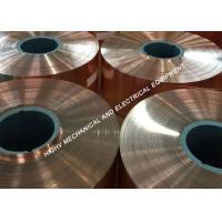 Buy cheap 1.30mm Thickness Copper Foil Strip 99.90 Cu Totally Annealed And High Purity from wholesalers