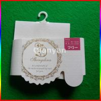 Buy cheap Wholesales socks & gloves packaging card hanging header card from wholesalers