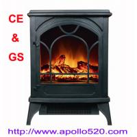 Log Flame Electric Fireplace Freestanding Manufactures