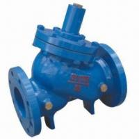 Hydraulic Water-level Control Valve, Made of Cast Iron and Cast Steel Manufactures
