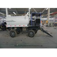 Buy cheap High Efficiency 2 Axles Sewage Cleaning Trailer For Vacuum Fecal Suction 5000Liters from wholesalers