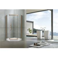 Buy cheap Stainless Steel Pivot Shower Doors  Tempered Glass Nano Self - Cleaning Swing for Home from wholesalers