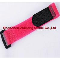 Buy cheap Nylon Adjustable Hook And Loop Cable Ties With Buckle Customized Color from wholesalers