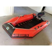 Buy cheap pvc inflatable boat from wholesalers